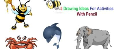 5 Drawing Ideas For Activities With Pencil